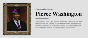Saints Row website - People - The Cabinet - Pierce Washington