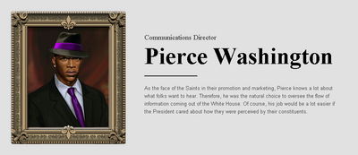 Saints Row website - People - The Cabinet - Pierce Washington
