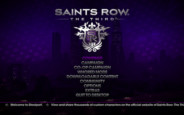 File:Saints Row The Third - Main Menu.png