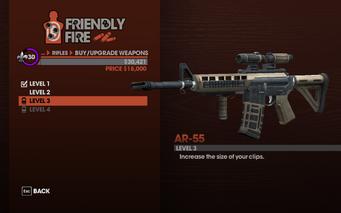 AR-55 Level 3 description