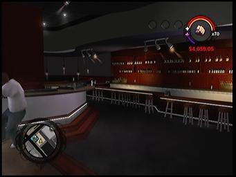 $tock$ bar and DJ area
