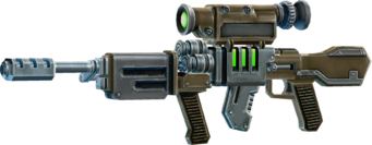 SRIV Rifles - Automatic Rifle - EM Railgun - Default