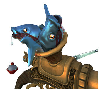 Shark-O-Matic render - fish closeup