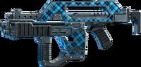 SRIV Rifles - Burst Rifle - Impulse Rifle - Blue Plaid