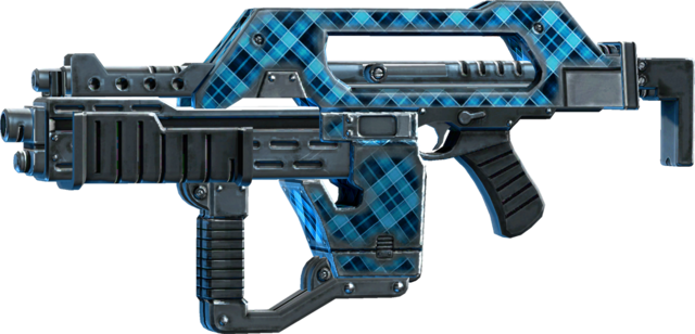 File:SRIV Rifles - Burst Rifle - Impulse Rifle - Blue Plaid.png