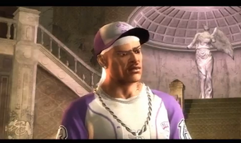 Pierce in an unknown mission in Saints Row 2