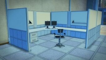 Developer offices - cubicle
