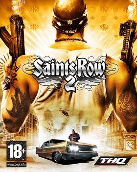 Saints Row 2 box art with logos