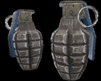Hand Grenade model