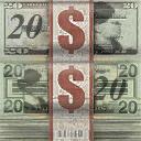 Cash - stack of 20 dollar bills in Saints Row 2