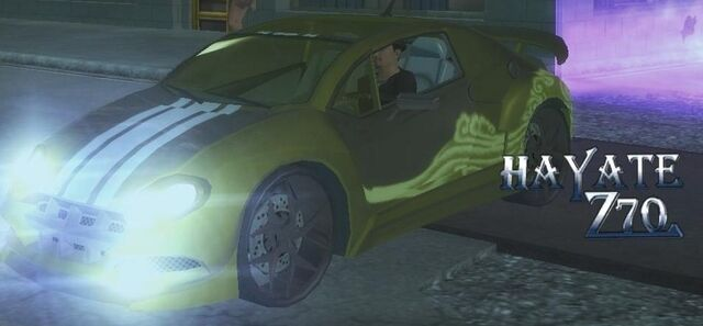 File:Hayate Z70 - front left with lights in Saints Row 2.jpg
