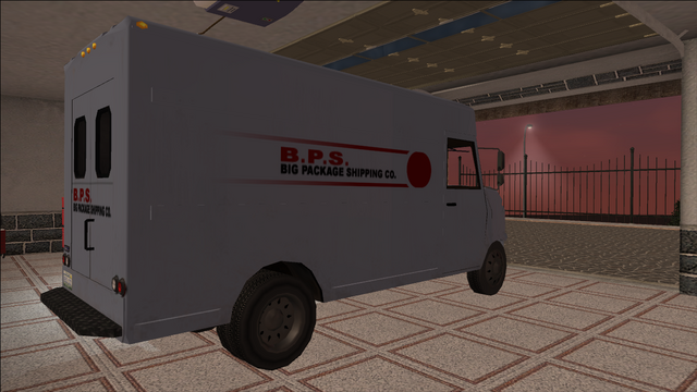 File:Saints Row variants - Delivery Truck - BPS - rear right.png