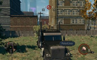 Peterliner - front with logo in Saints Row The Third