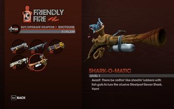 Shark-O-Matic - Level 1 description