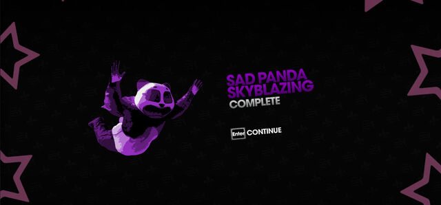 File:Sad Panda Skyblazing completion screen.jpg