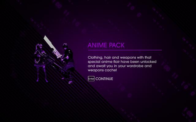 File:Saints Row IV DLC Unlock - Anime Pack.png