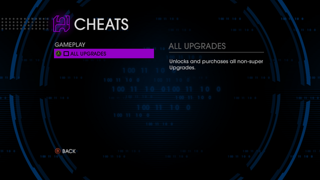 File:Gameplay cheats menu in Saints Row IV.png