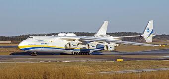 Gawalek A36 - Antonov 225 in real life
