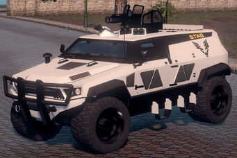 N-Forcer - STAG variant in Saints Row The Third - front left
