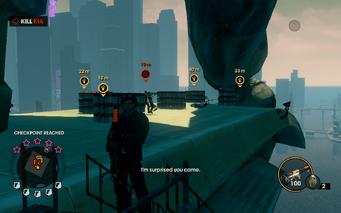 Three Way - Kill Kia objective