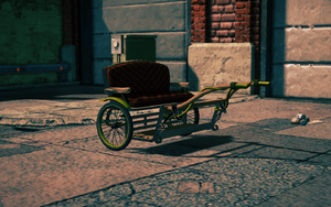 Pony Cart - front right in Saints Row IV