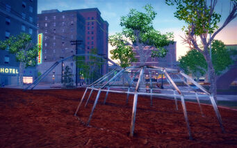 Encanto in Saints Row 2 - playground