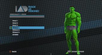 Saints Row The Third Player Customization promo - Hulk