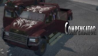 Brotherhood Compensator with logo in Saints Row 2