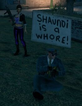 Shaundi is a whore