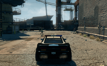 Peacemaker - rear in Saints Row The Third