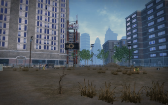 Sunnyvale Gardens - empty lot in Saints Row 2