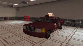 Saints Row variants - Taxi - TNA - front left