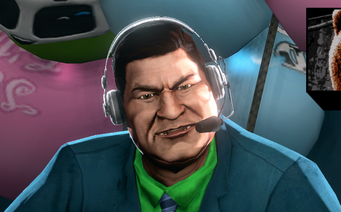 Zach closeup in Saints Row The Third