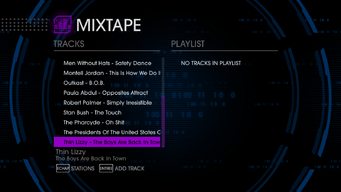 The Mix 107.77 - Saints Row IV tracklist - bottom