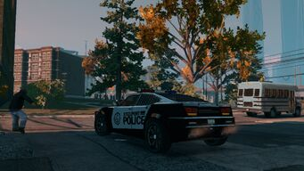 Peacemaker - rear right in Saints Row The Third