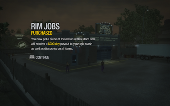 Rim Jobs in Black Bottom purchased in Saints Row 2