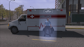 Saints Row Ambulance healing icon