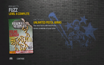 Unlimited Pistol Ammo unlocked SR2