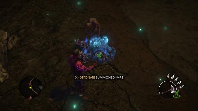 Gat out of Hell (Walkthrough video) 0339 Power - Detonate Summoned Imps