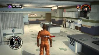 Jailbreak - Kill the doctor objective