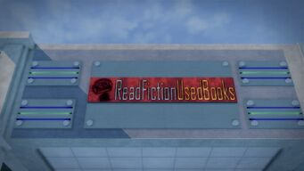 Read Fiction sign