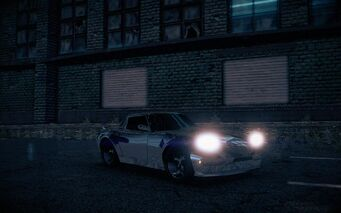 Rattler - Chrome variant - front right with lights in Saints Row IV