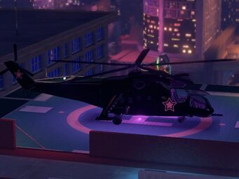 Vulture - right - on helipad in Saints Row The Third