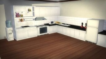 Executive Yacht - Kitchen