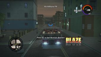 Blaze - front in Saints Row 2