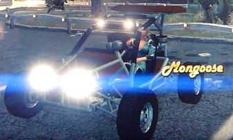 Mongoose - front left with lights and logo in Saints Row 2