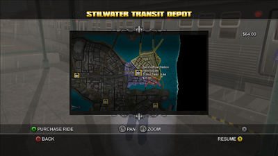Stilwater Transit - Saint's Row Station