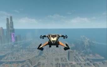 Condor - jet mode - rear in Saints Row The Third