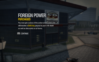 Foreign Power in Misty Lane purchased in Saints Row 2