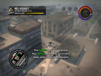 Tornado in Heli Assault